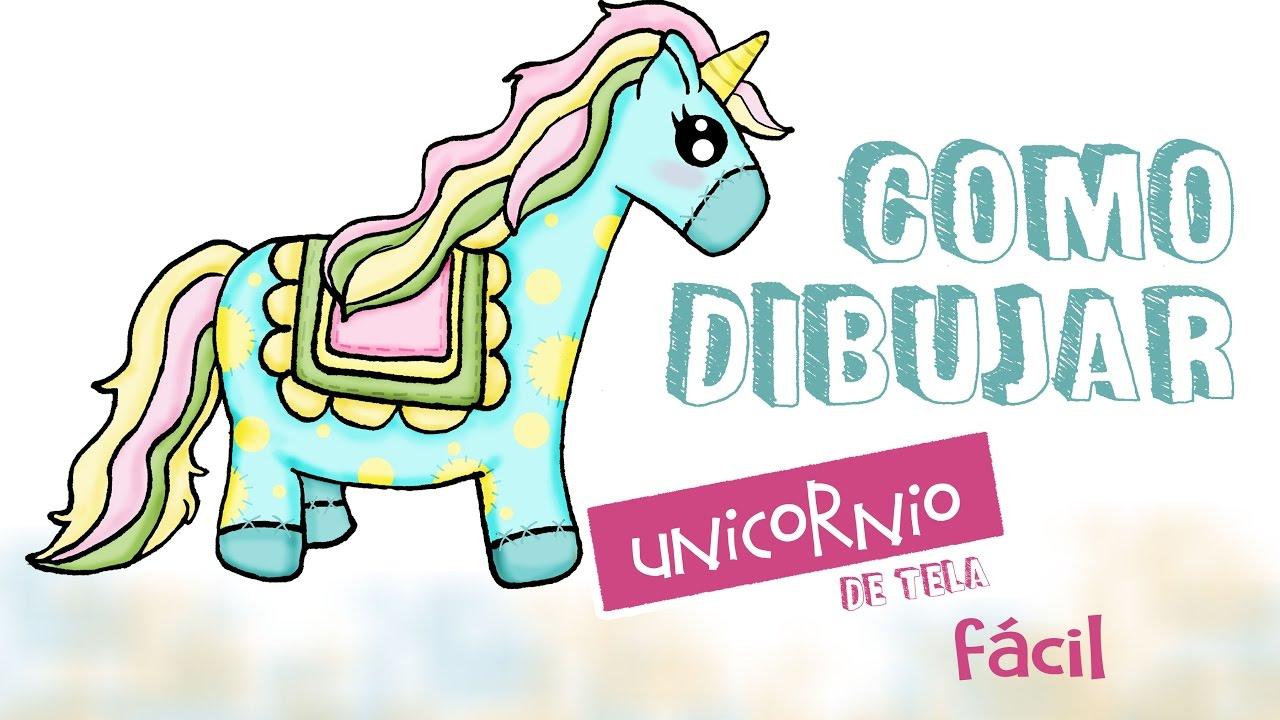 Como dibujar un unicornio 🦄/ dibujo facil para niños - YouTube