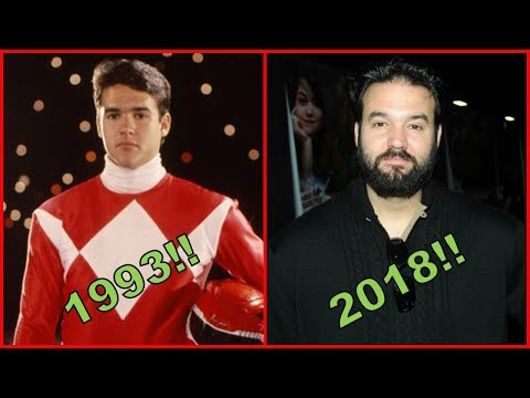 Mighty Morphin Power Rangers Cast Then And Now 2018|Mighty Morphin Power Rangers Before and After!