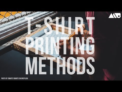 Different T-Shirt Printing Methods Explained