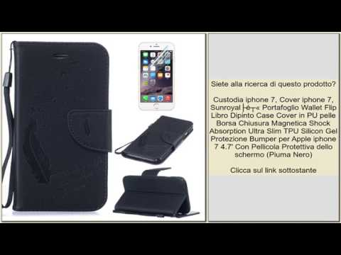Magnetico Flip pelle Libro Custodia Portafoglio Cover per IPHONE