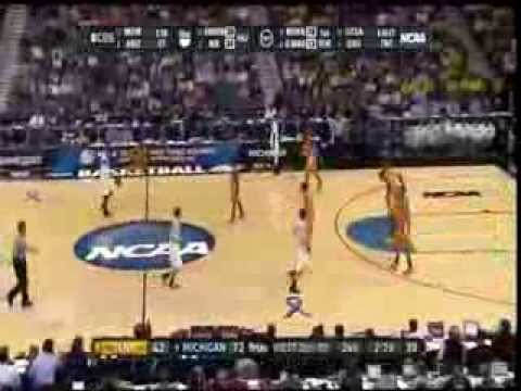 2011 NCAA First Round #8 Michigan vs. #9 Tennessee Highlights