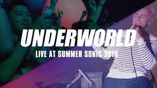 Underworld – Born Slippy (Nuxx) at Summer Sonic Tokyo 2016. #shinin...