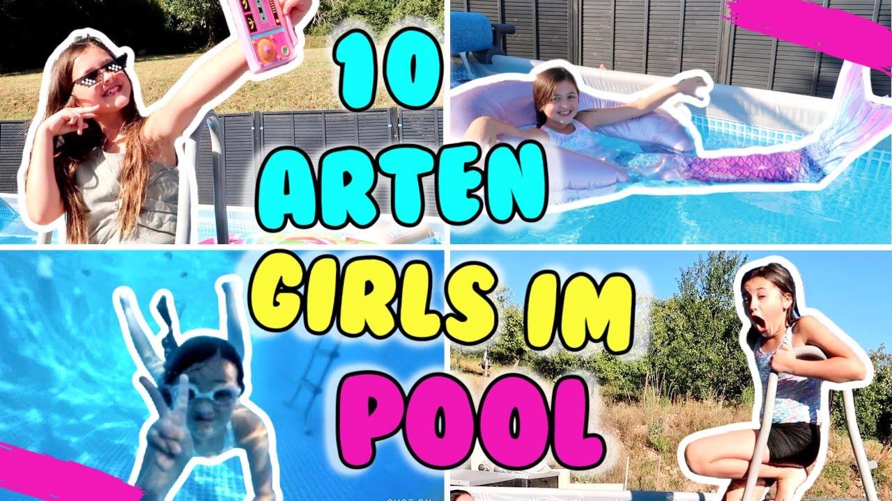 10 ARTEN MÄDCHEN im POOL 💦 Diese Mädels habt ihr alle schon mal im Pool getroffen! 😂 Alles Ava