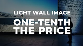 Slate XL – Light Wall Image at One-Tenth the Price