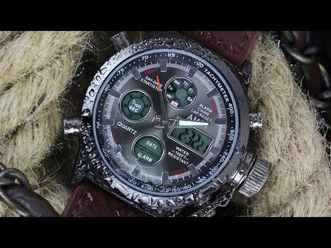 Часы amst 3003 видео