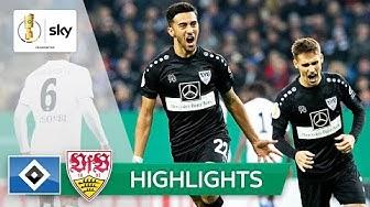 VfB gelingt Revanche nach Liga-Klatsche | HSV - Stuttgart 1:2 n.V. | Highlights - DFB-Pokal