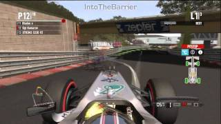 Massive F1 2011 Game Crash!