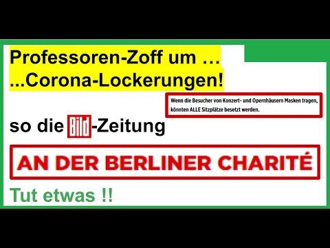 BILD: Professoren Zoff um Lockerungen an der Berliner Charité. Es geht um unsere Kultur!