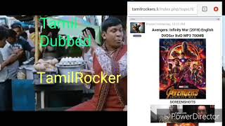 TamilRockers with Avangers.  #Avangera infinity war Vadivelu version