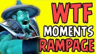 Dota 2 WTF Rampage Epic Compilation