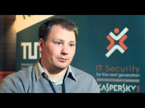 """David Jacoby's interview, """"IT Security for the Next Generation"""""""