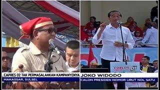 Di Makassar, Prabowo Kembali Sindir Media   Jokowi Kampanye Akbar di Banten - LIS 25/03