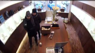 Ограбление ювелирного магазина в Праге