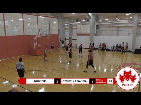 2017 IM Basketball Grad/Fac/Staff Championship - Nooners vs. Strictly Financial (April 19th, 2017)