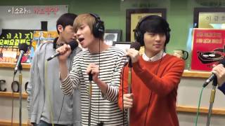 TEEN TOP (틴탑) EXITO - MISSING (쉽지 않아) LIVE ON RADIO