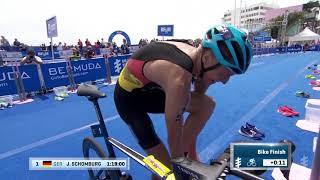 видео: 2019 MS Amlin Мировая Серия Триатлона. Бермуды. Лучшие моменты гонки. Мужчины