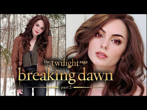Bella Cullen (Kristen Stewart) Vampire Makeup Tutorial | Breaking Dawn Transformation