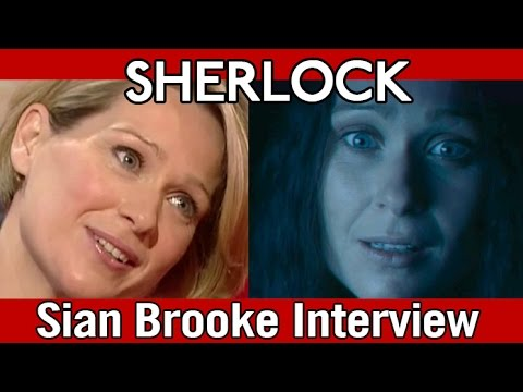 Eurus Holmes actress Sian Brooke interview (#Sherlock) [re-upload]