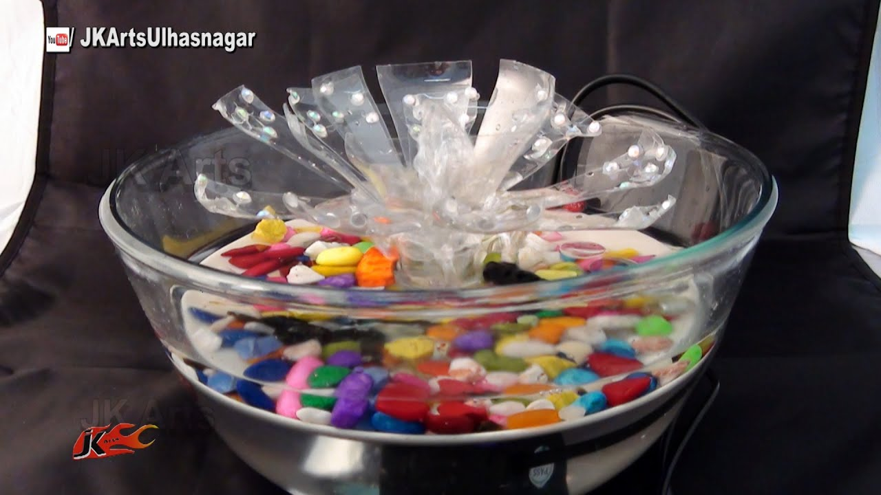 table top water fountain idea jk craft ideas 098 youtube