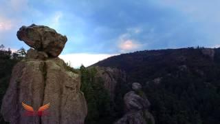 """""""Vive Mineral del Monte, Hidalgo desde el aire"""" - Hidalgo, Helivant, DJI Inspire 1"""