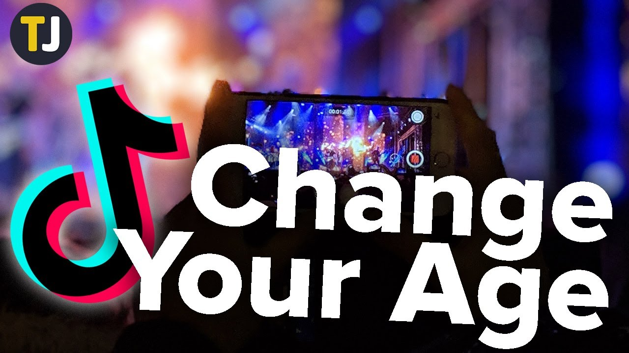Image result for How to Change Your Age on TikTok