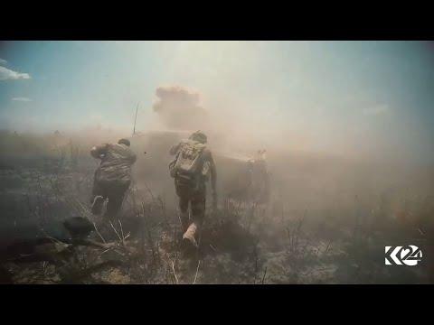 Combat: Kurdish Peshmerga fighting against ISIS around Mosul [14.08.2016]