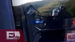 Normalistas roban autobús y graban su propia persecución / Yuriria Sierra