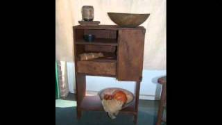 Primitive Furniture: Apothecary Cupboards