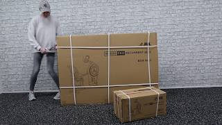 RE600 Pro Recumbent Bike Assembly and Unboxing