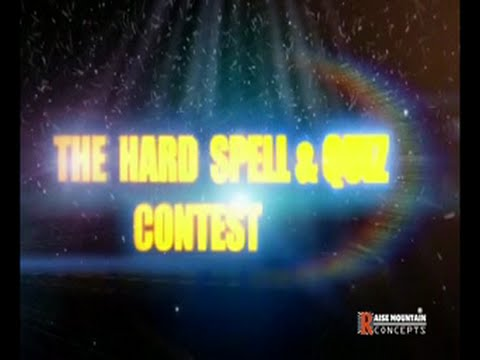 The Hard Spell and Quiz Contest 2016 Greater Accra Regionals Part 2