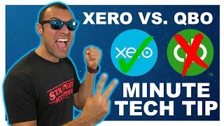 2 Minute Tech Tip QuickBooks vs  Xero Best Accounting Bookkeeping | Small Business Owner | AdvisorFi