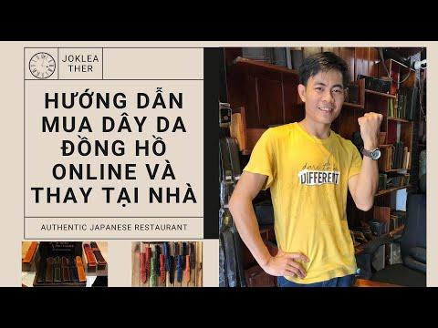 Hướng Dẫn Thay Dây Da Đồng Hồ Nam