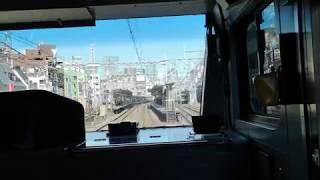 【前面展望】京浜東北線 快速列車(東京~神田)