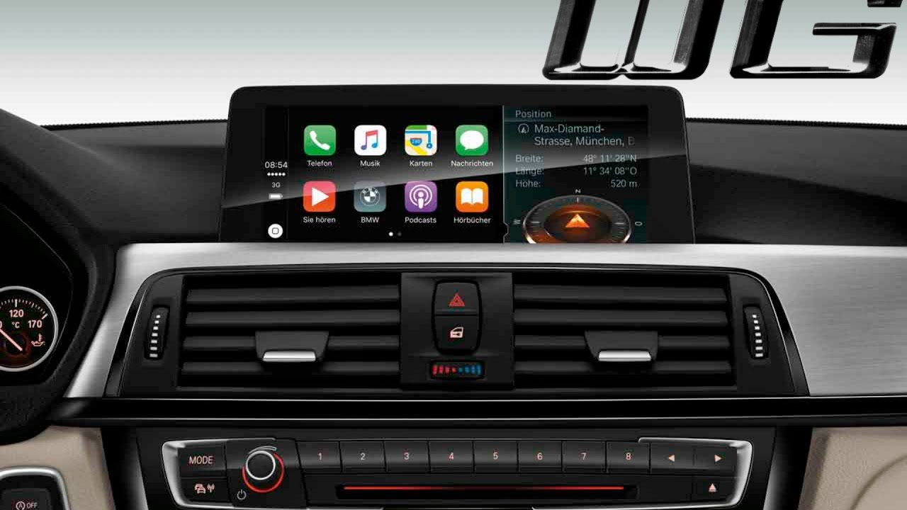 apple carplay in depth overview set up with bmw idrive