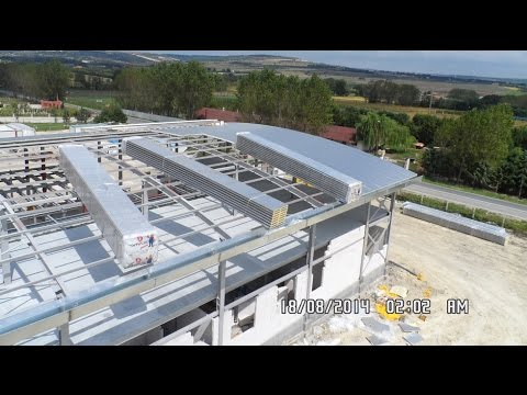 Steel Construction Factory | Prefabricated Factory  | Manufacturing of Steel Factory Structures