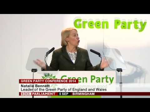 Natalie Bennett Speech - Green Party Conference 2014