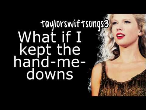 Taylor Swift - Ronan - Lyrics NEW SONG 2012