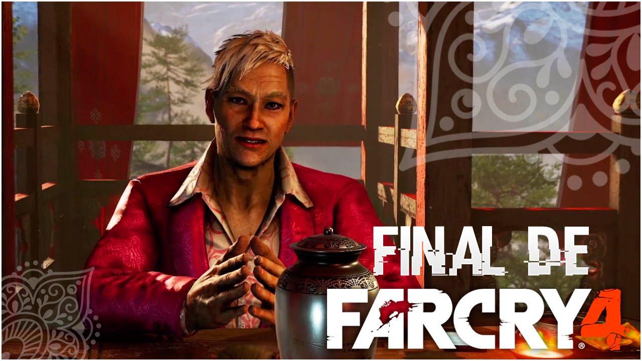 Final del Far Cry 4   Muerte de Pegan Min