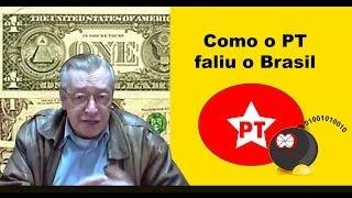 Como o PT faliu o Brasil - Olavo de Carvalho thumbnail