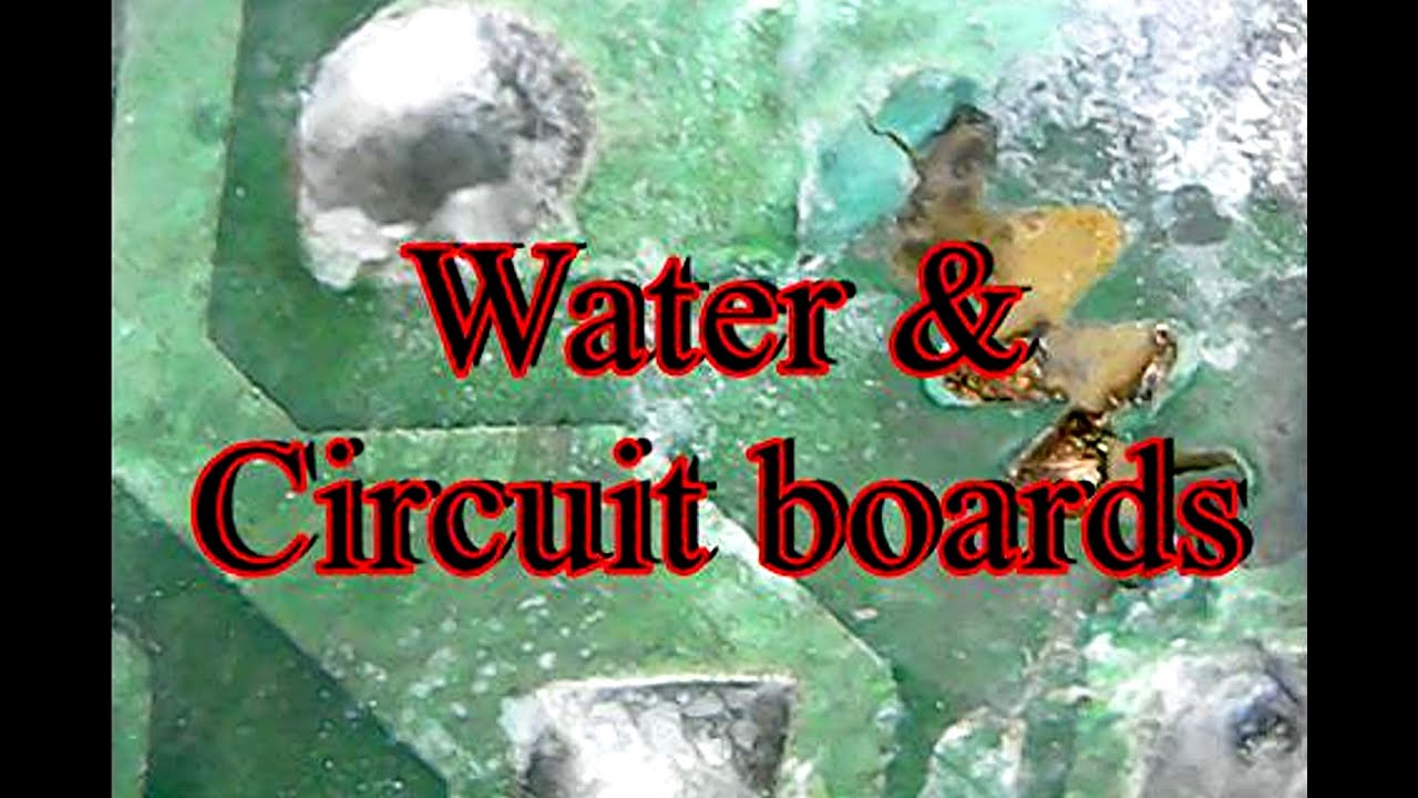 Water And Circuit Boards Youtube Board Pu Transparent Waterproof Potting Pcb
