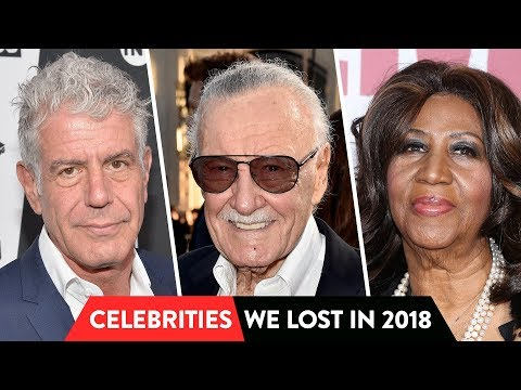 All Celebrities Who Passed On In 2018 | ⭐OSSA