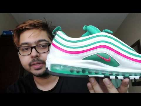 ee44726d121c Nike Air Max 97 South Beach Review! 😍😍💕💕 - YouTube