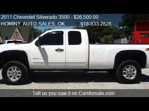 2011 Chevrolet Silverado 3500 Z71 Ext. Cab Long Box 4WD ...
