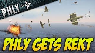 War Thunder SEA METEOR Gameplay! Phly Gets REKT