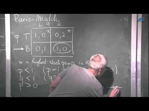 Johannes Hörner - Discounted Stochastic Games: Complete Information