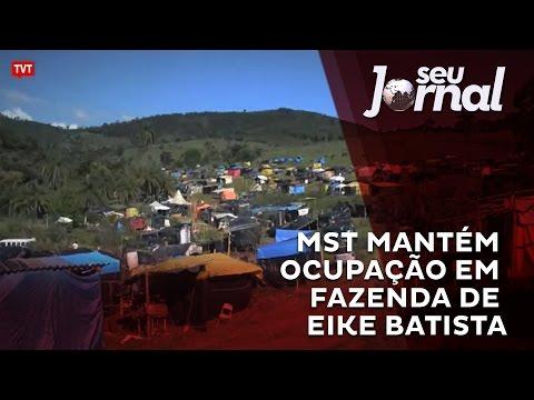 MST mantém ocupação em fazenda de Eike Batista; Veja o vídeo