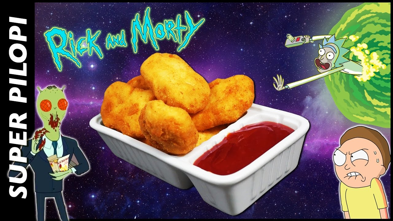 salsa szechuan de rick and morty  nuggets caseros  youtube
