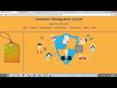 Insurance Management System Java Project