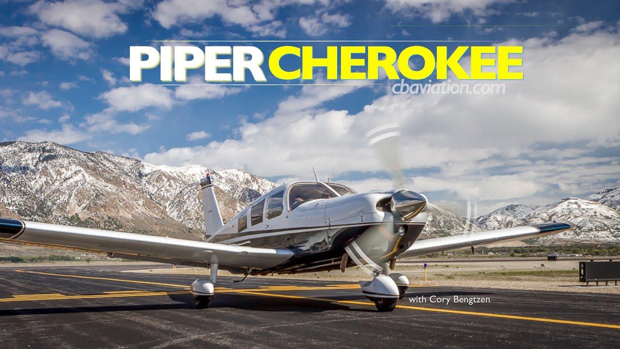 Piper Cherokee 260 flight tour