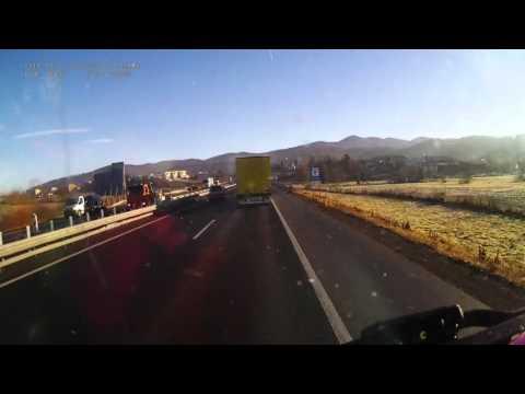 Slovenia. Motorway A1, 206-151 km. 2015-12, 1x